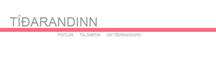 Tíðarandinn.is - Hausmynd